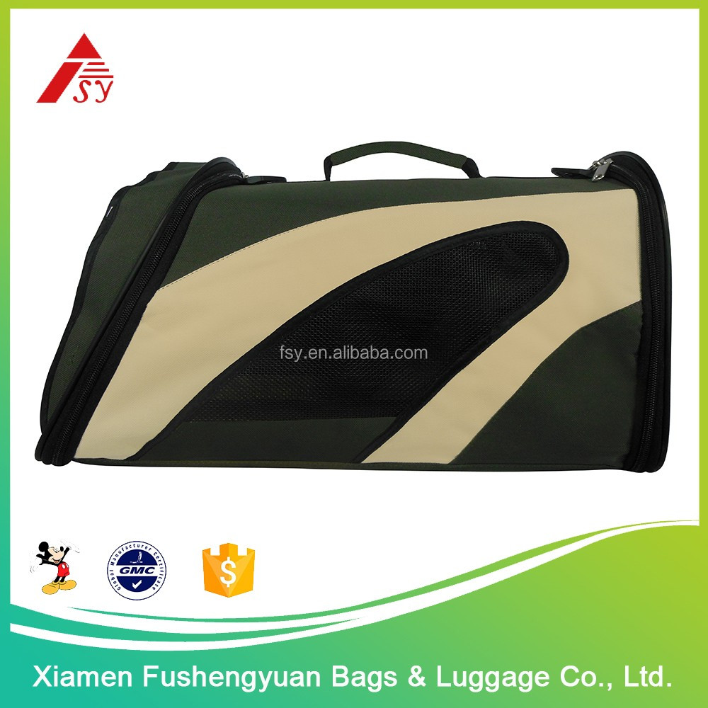 wholesale China trade 600D polyester super light weight pet carrier / pet cage