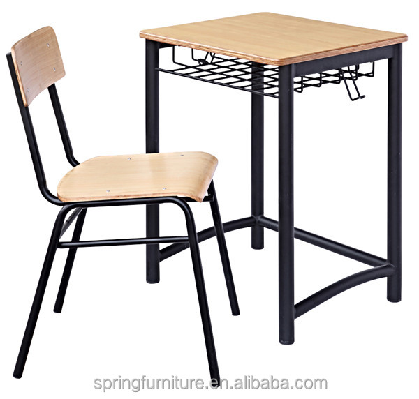 CT-328 Modern New Design School Desk and Chair used school furniture student chair