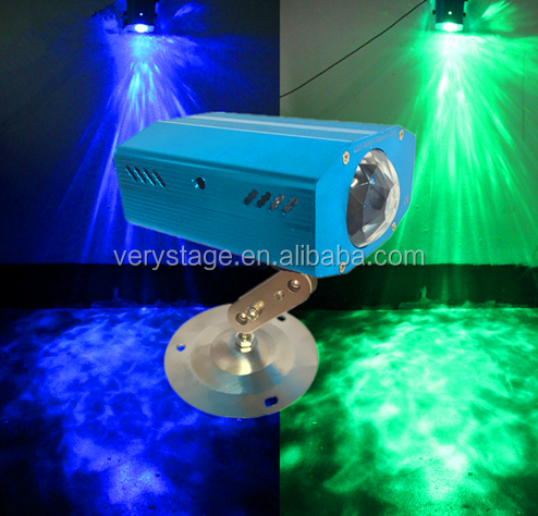 LED Water Ripples Light LED Stage Lighting Colorful Wave Ripple Shining Effect Disco Light