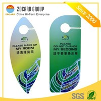 Profesional high quality custom printed pvc funny door hanger