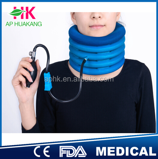 inflatable cervical traction,as see as on tv air cervical neck traction