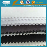 Polyetser And Cotton Mix Woven Interlining