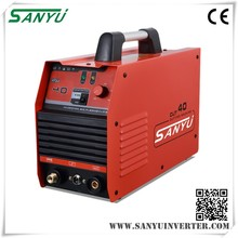 Sanyu automatic 40mos pipe cutting machine welding manufacture in shanghai