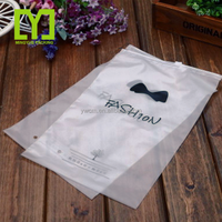 2018 Clear Grip Self Press and Seal Resealable PE Plastic Zip Lock Plastic Bags