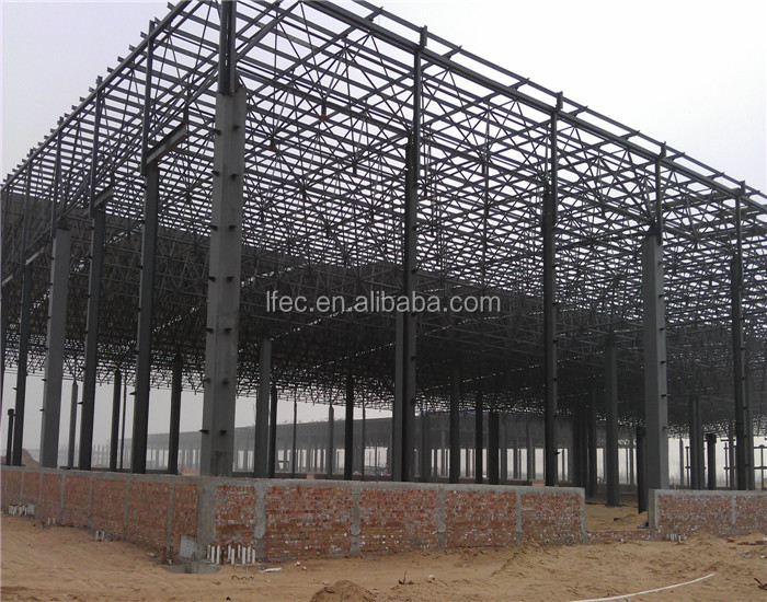 ISO9001 verified: Quick install secure steel structure workshop