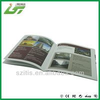 Flyer advertising travel brochure supplier in China