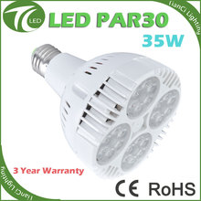 2016 new model E27 35w par30 led light non dimmable spotlight