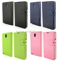 For Samsung Galaxy Note 3 III N9000 Leather Flip Wallet Case Cover w/ Card Slots