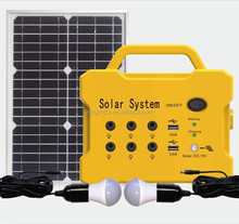 mini 20W solar power system with High configuration, manufacturer in China