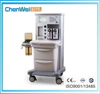 Anesthesia machine integrated with ventilators