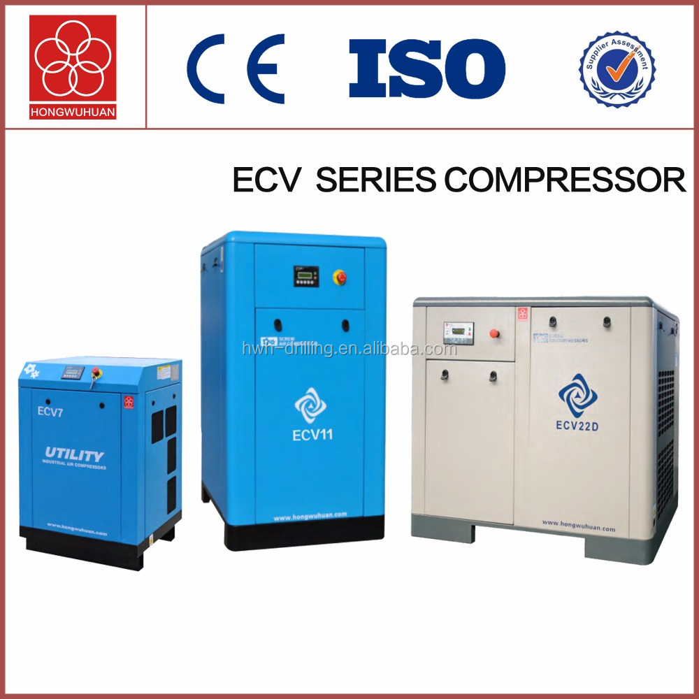 ECV55D electric 55kw variable frequency drive type with import air end