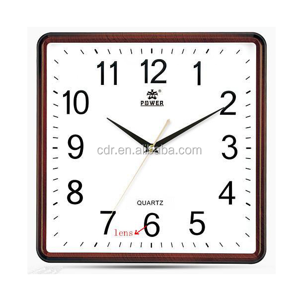 P2P Wireless POWER Clock 720P Wall Clock Wifi Hidden Camera Lont TIme Recording YM-W011