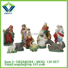 Christmas nativity Ceramic figurines