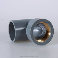 ASTM SCH40 SCH80 standard pvc fittings / plastic pipe fittings for sale