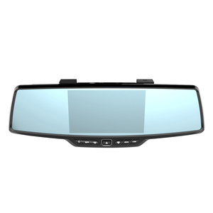 New Design Rearview Mirror Backup Camera Car Dvr Recorder, Dash Cam Loop Recording Motion Detection