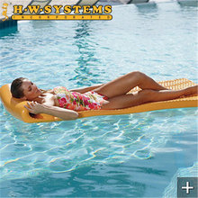 Non-slip style Customized Pool Water Floats Vinyl Coated Pool Float Dipping Foam Product For Adult