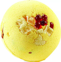 Luxury moisturizing shea butter SPA bath bomb fizzer with candy