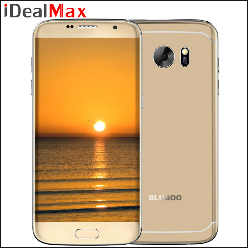 Original Bluboo Edge MTK6737 Quad Core 5.5 Inch Android 6.0 Cell Phone 2G RAM 16G ROM Fingerprint Unlock Mobile Phone