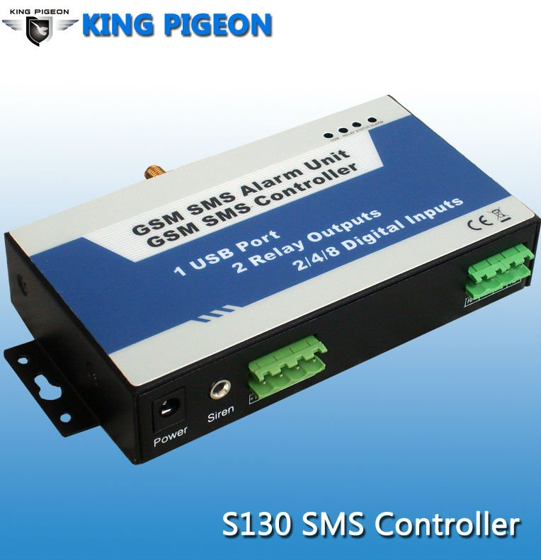 King Pigeon GSM SMS controller Security Alarm System applications automatic Remote monitoring system FOR Valve control