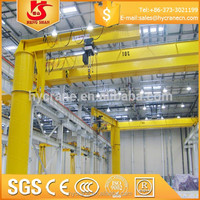 5 Ton slewing jib cranes for sale