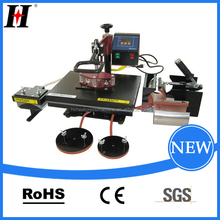 China Supplier QX-A6 Multifunctional combined heat press machine currency printing machine