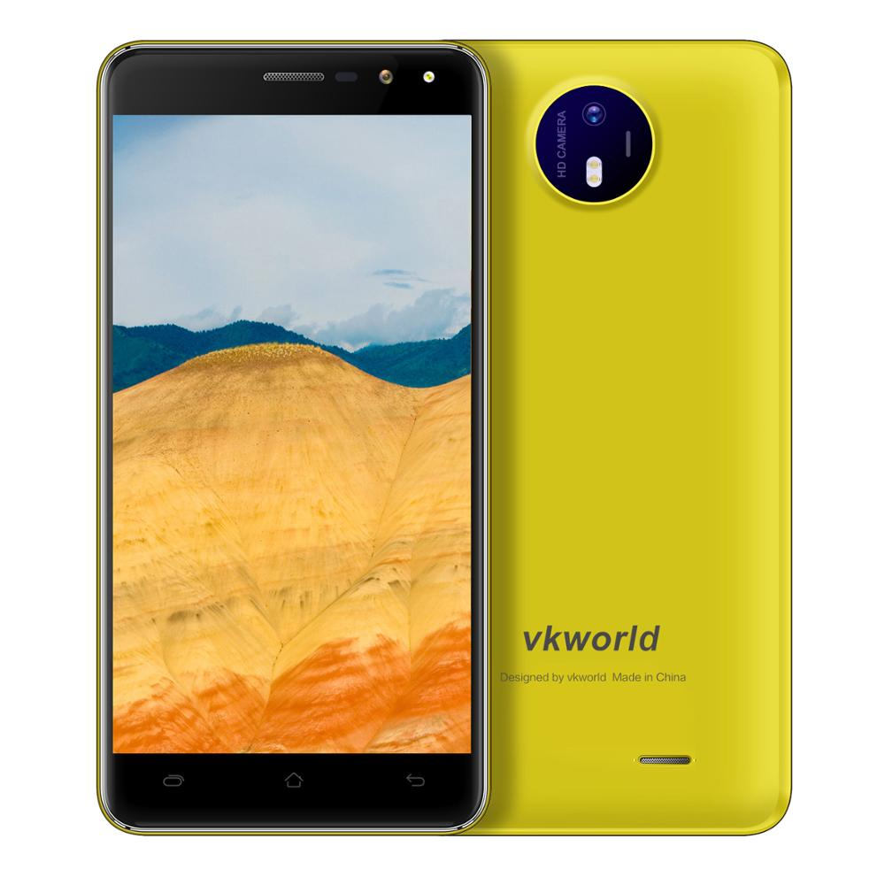 High Specification 3G Android 6.0 VKWORLD F2 Dual SIM 5.0 inch Screen Low Cost China Smartphone RAM2G+ROM16G 2800mAh