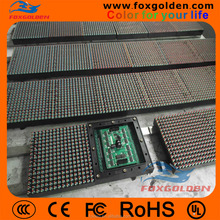 high resolution outside RGB full color P10 led module , p10 led billboard
