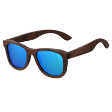 AW611B Custom Logo Wholesale Brown <strong>Bamboo</strong> Polarized Sunglasses