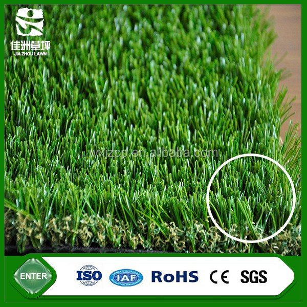 wuxi special v shape synthetic grass artificial turf for garden