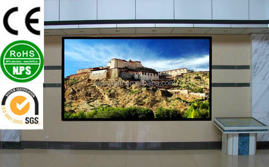 china cheap 2015 new product hot selling p5 indoor full color led display hd movie with high quality