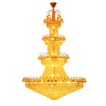 Dubai Hotel German Crystal Pendant Light Chandeliers Ceiling With Big Size For Lobby