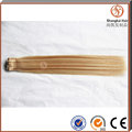 2016 factory price 7A human Remy Brazilian Clip in hair extension.