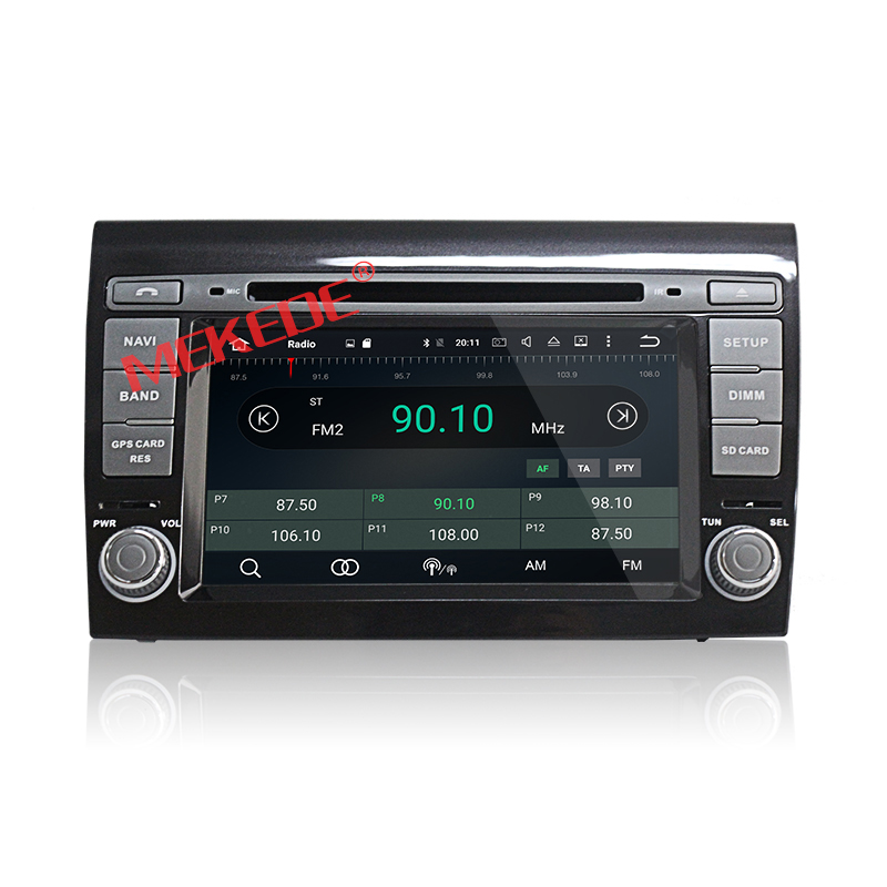 Wholesale!Android 6.0 Octa Cores Car DVD player for Fiat bravo with 2G RAM 32G ROM