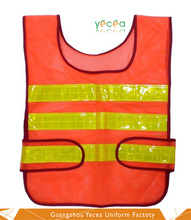 2016 Breathable Fluorescent Orange/Yellow Vests Guard/fireman uniforms for protection wholesale &Customized Logo