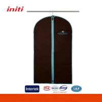 Factory Direct Sale Personalized Non Woven Garment Bag with Zipper