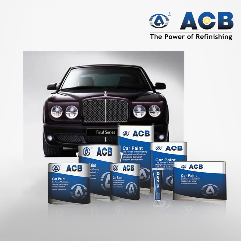 ACB Removable Plastic Spray technology car paint 2K clearcoating