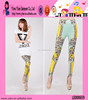 Fashion Top Quality Tights Elegant Peacock Printed Leggings