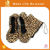 Lady Sexy Leopard Flats Casual Ballet Shoes Women Lovely Girl