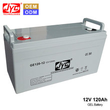 Guangzhou Deep Discharge Deep Cycle Gel AGM Lead Acid GP 12V 120Ah Battery Prices for UPS and Solar