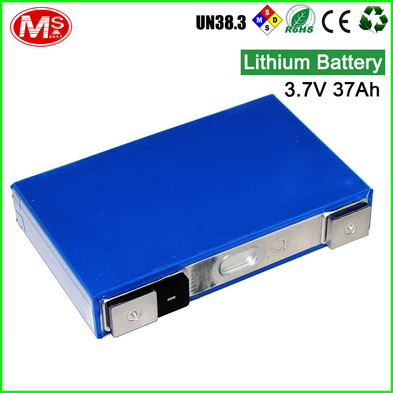 High Capacity rechargeable lithium ion battery 3.7V 37Ah for solar lights