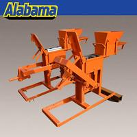 for building construction red clay interlocking brick making machine