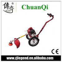 2015 hot sale hand push brush cutter lawn mower and grass cutter machine