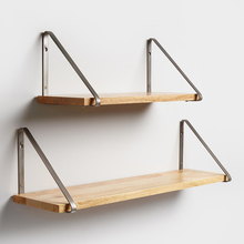Decoration furniture wood floating wall shelf