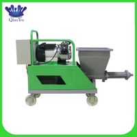 automatic exterior wall plaster machine