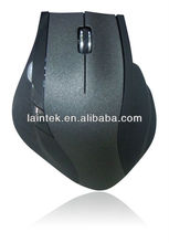 big size 5D high quality rubber coating optical wireless mouse