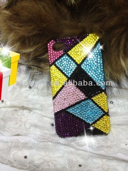 2014 Luxury Crystal Rhinestone bling Diamond Case for iphone 5