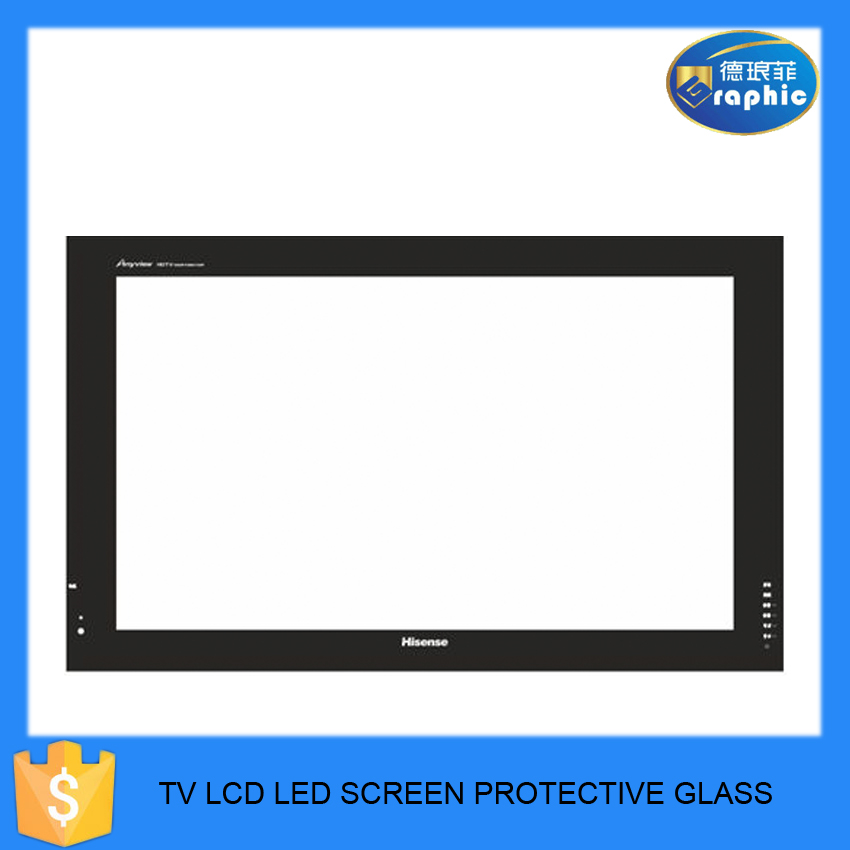 2016 New promotional 32inch 42 inch 3D LED TV screen glass
