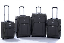 Hot sale cheap 600D EVA trolley bag internal caster travel luggage