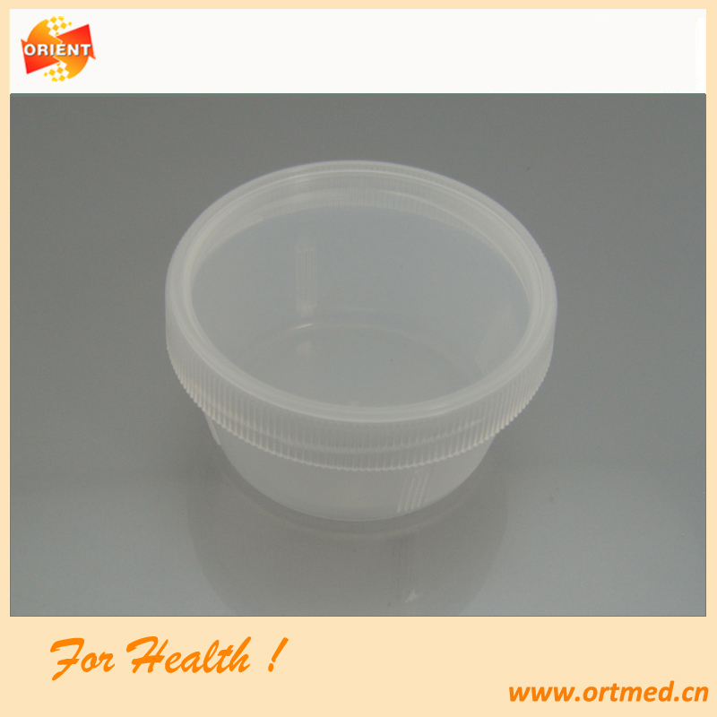 dispoable suptum container sputum sample cup for Lab use