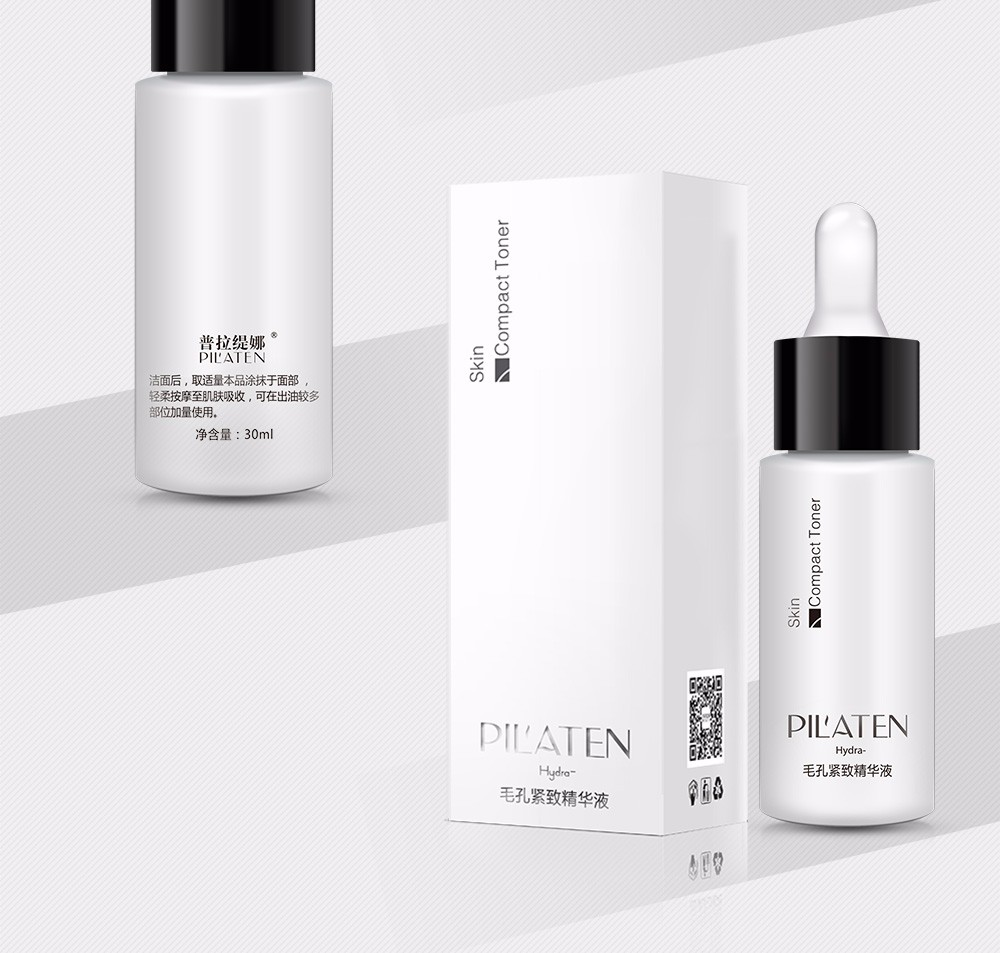 Acne Treatment PIL'ATEN Skin Compact Toner Pore Collagen Brightening Advancer Moisturizing Good Using with Blackhead Remover Set